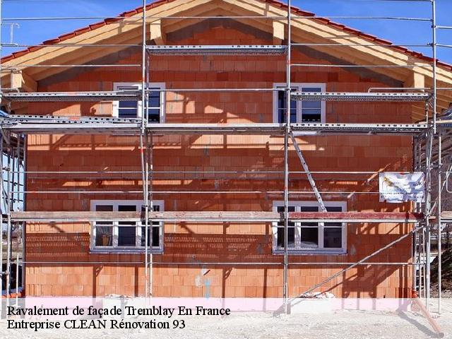 Ravalement de façade  tremblay-en-france-93290